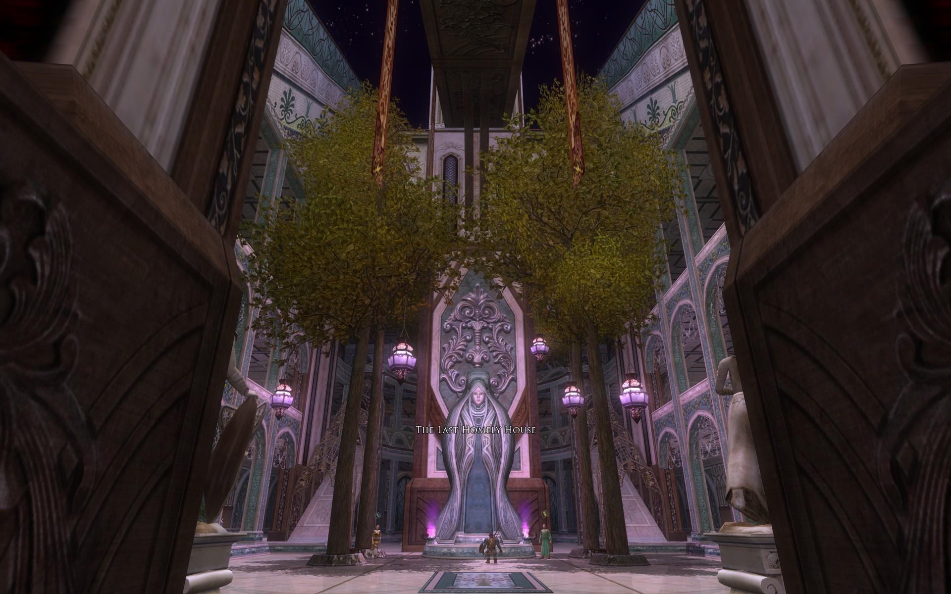 『ロード・オブ・ザ・リングス オンライン』における「最後の憩」館