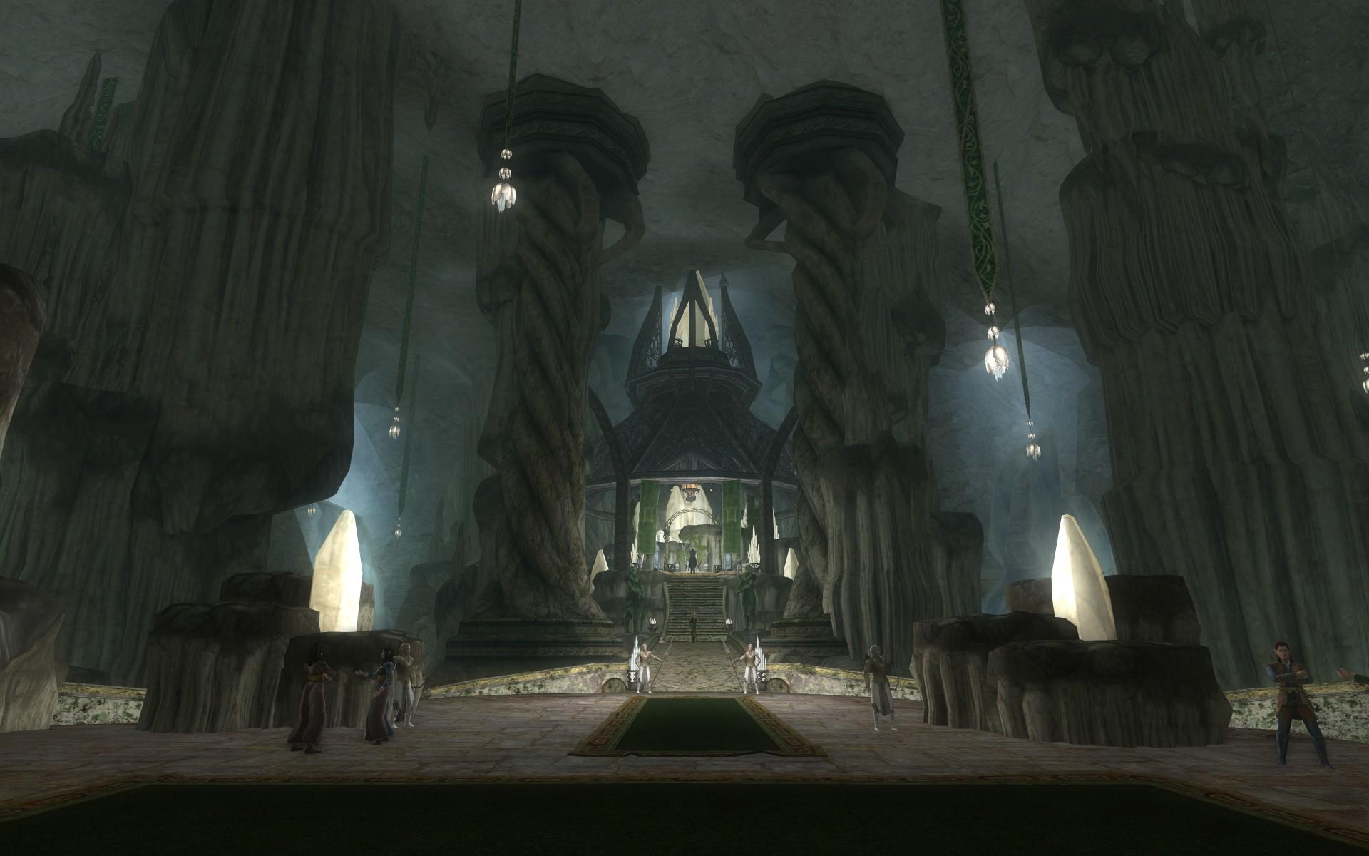 『ロード・オブ・ザ・リングス オンライン』におけるエルフ王の岩屋