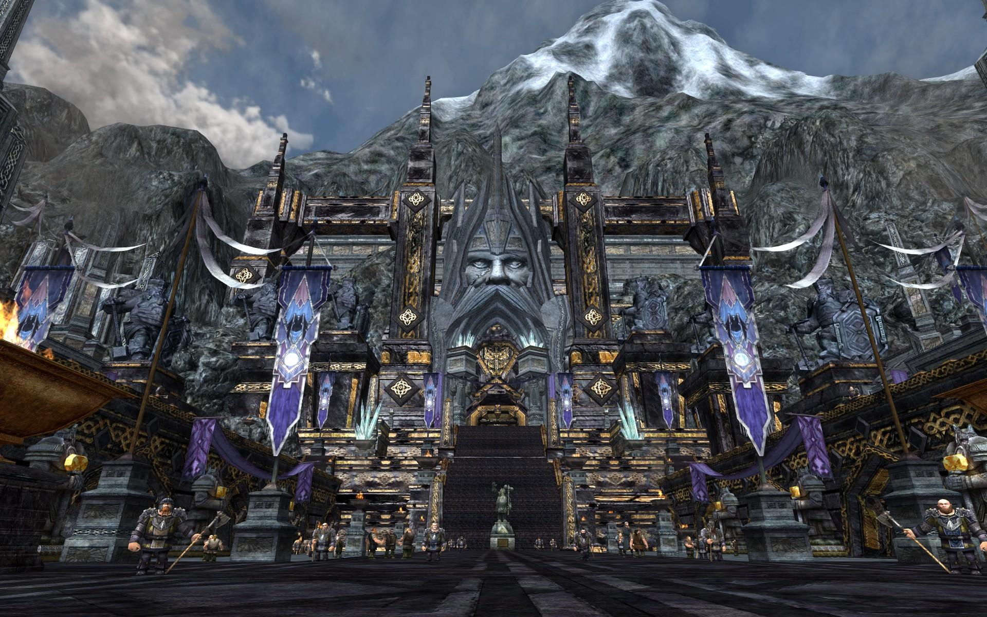 『ロード・オブ・ザ・リングス オンライン』におけるエレボールと山の下の王国の入り口