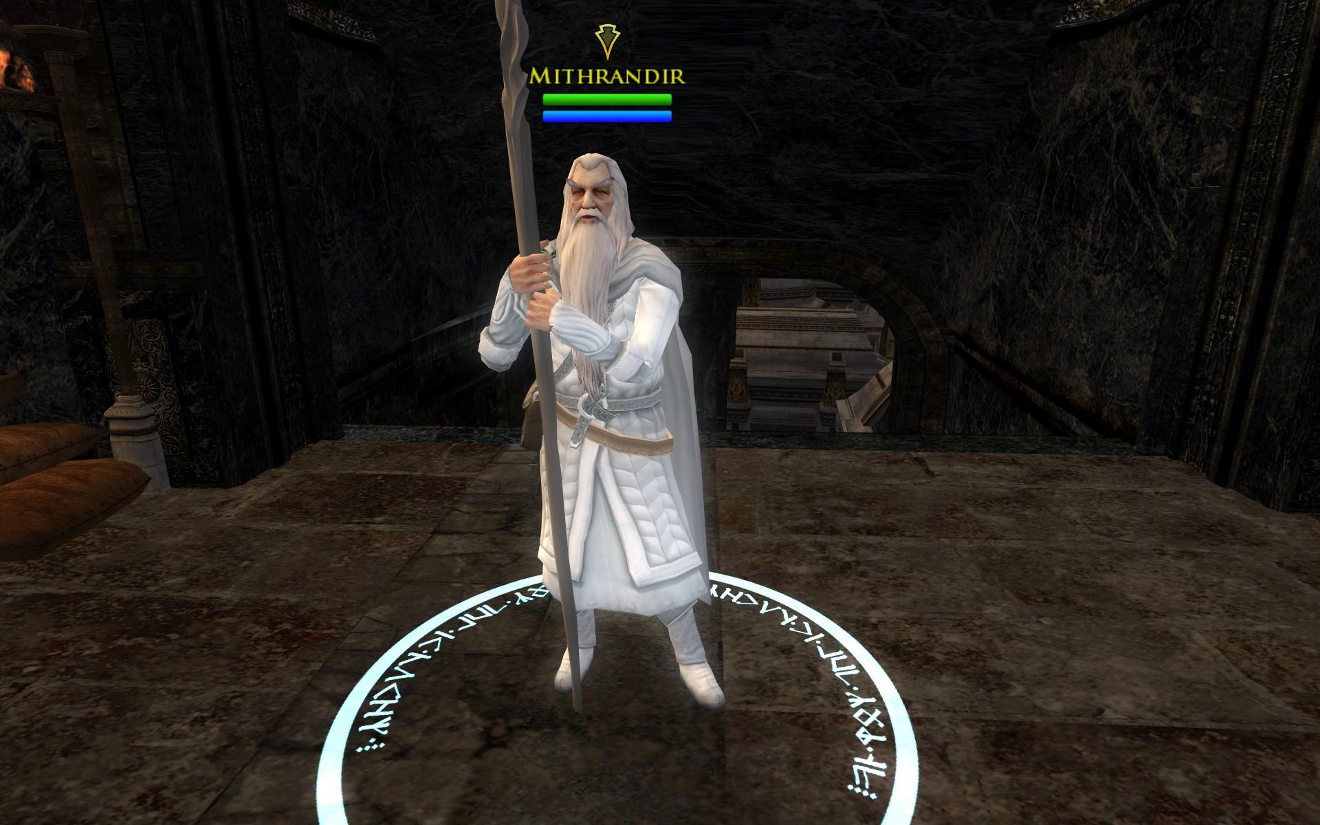 『ロード・オブ・ザ・リングス オンライン』におけるミスランディア(白のガンダルフ)