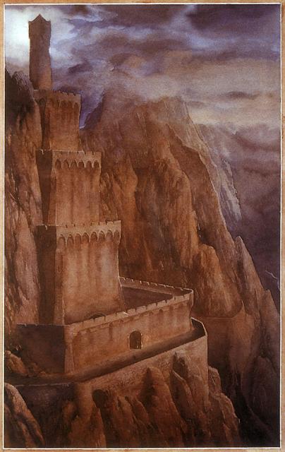 アラン・リー作画によるキリス・ウンゴルの塔