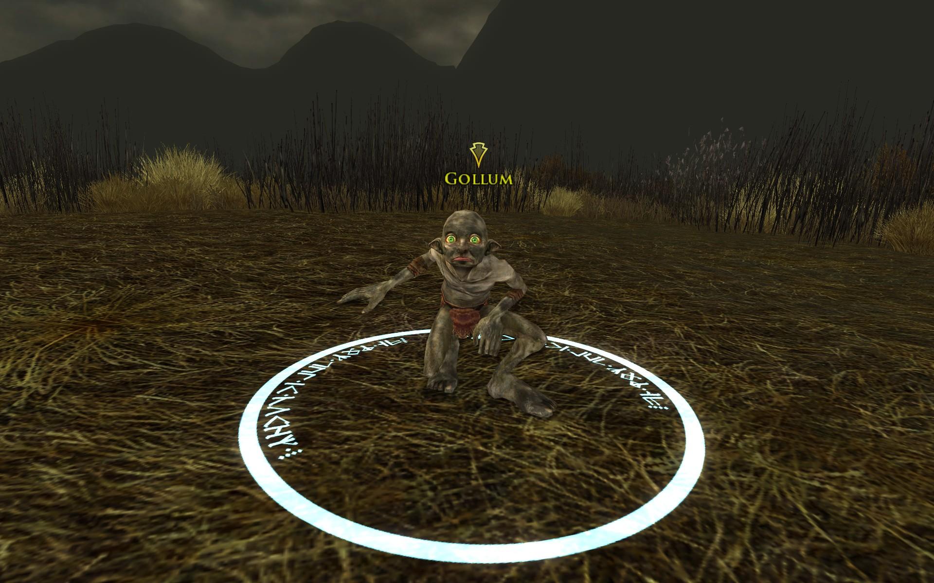 『ロード・オブ・ザ・リングス オンライン』における死者の沼地でのゴクリ