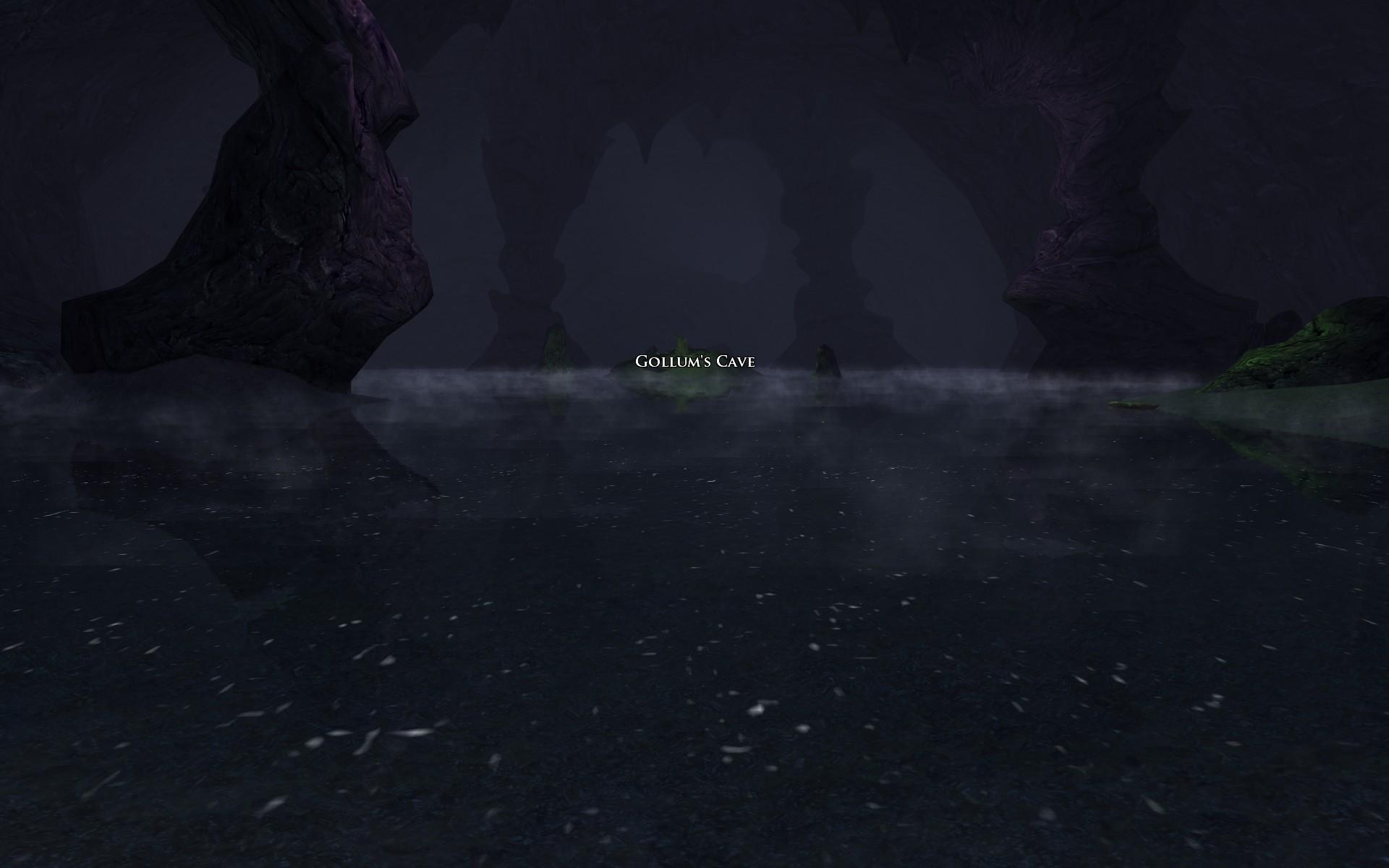 『ロード・オブ・ザ・リングス オンライン』における、ゴブリン町奥のゴクリがいた洞窟