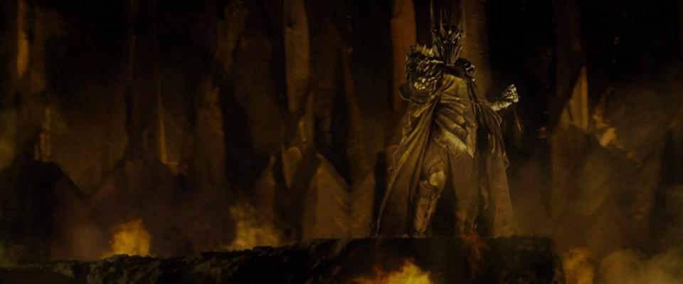 『ロード・オブ・ザ・リング』におけるサウロン(最後の同盟の戦いの前)
