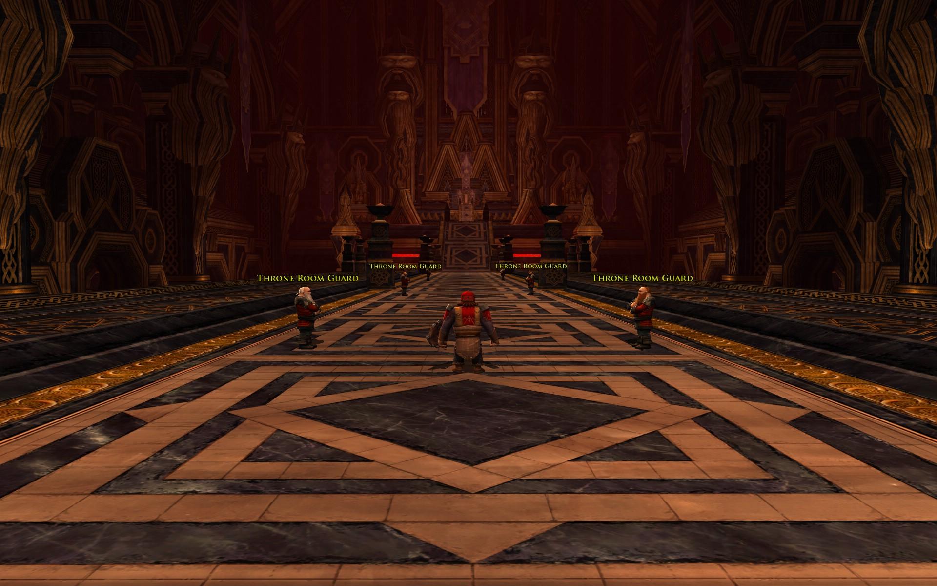 『ロード・オブ・ザ・リングス オンライン』における、没落以前のモリアの王の間