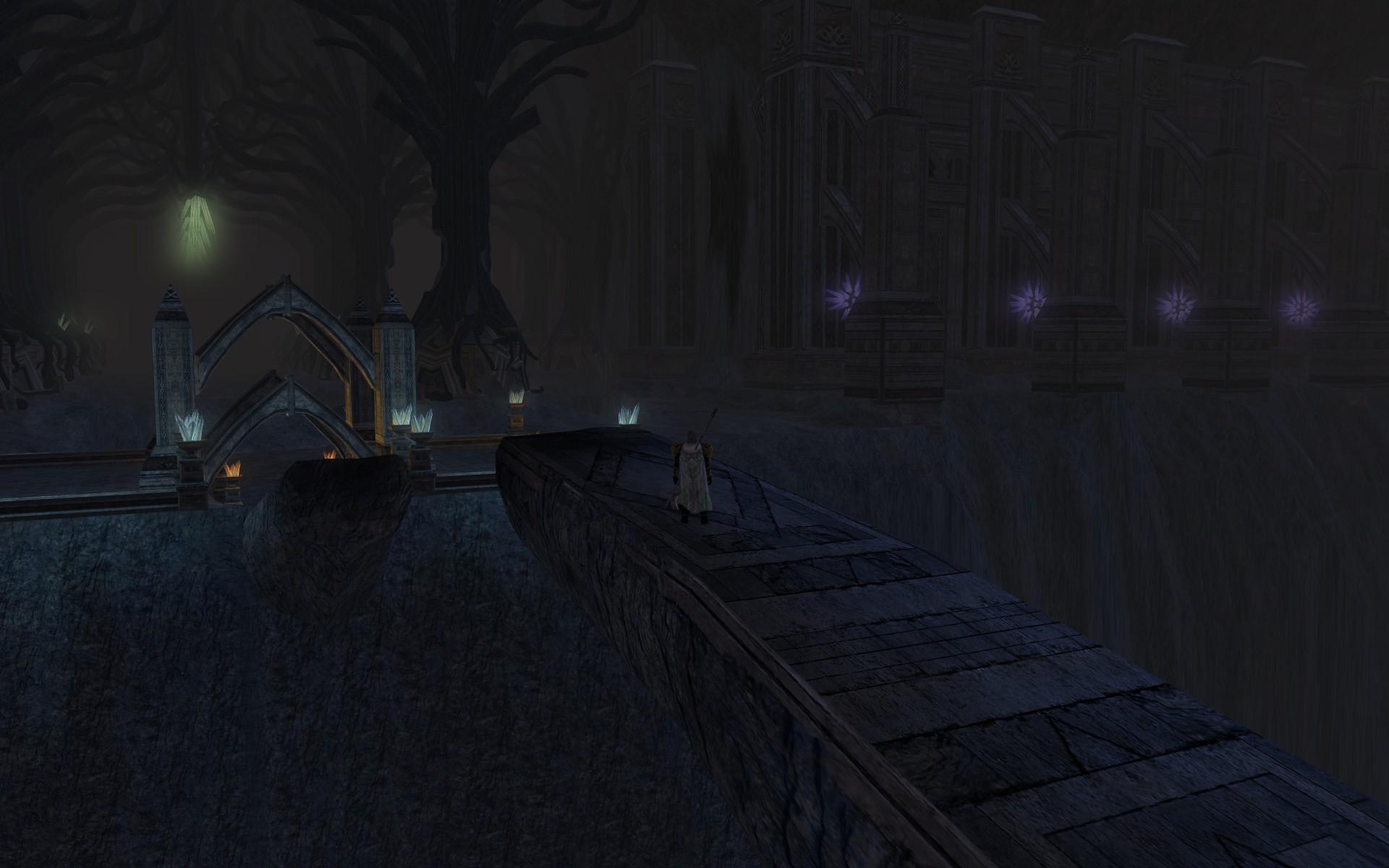 『ロード・オブ・ザ・リングス オンライン』におけるドゥリンの橋(東側から)