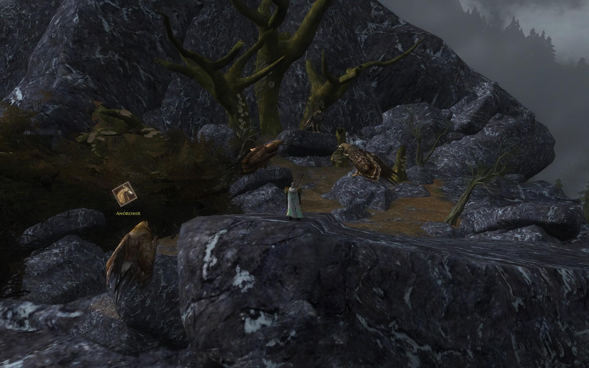 『ロード・オブ・ザ・リングス オンライン』におけるワシの巣