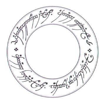 円環の指輪の銘