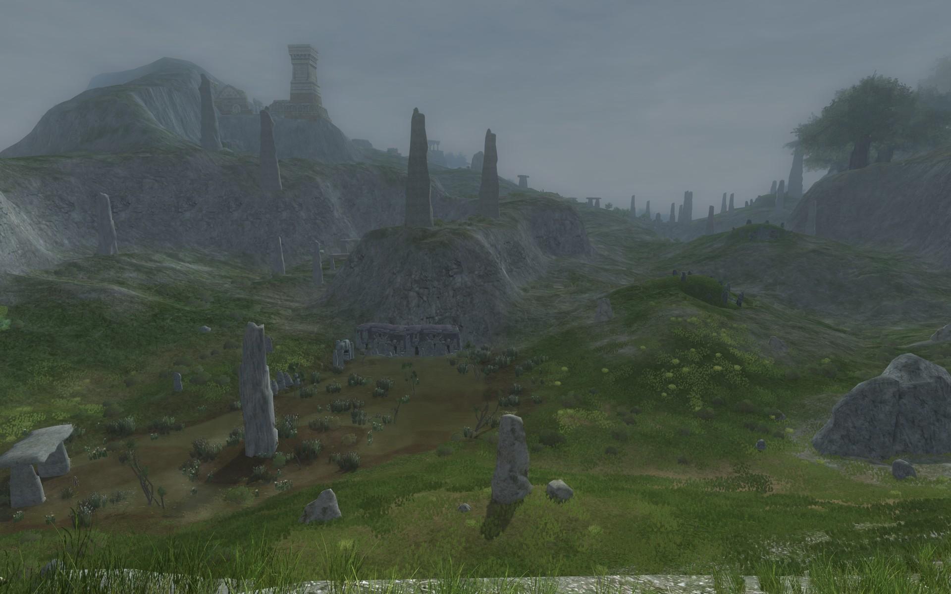 『ロード・オブ・ザ・リングス オンライン』における塚山丘陵