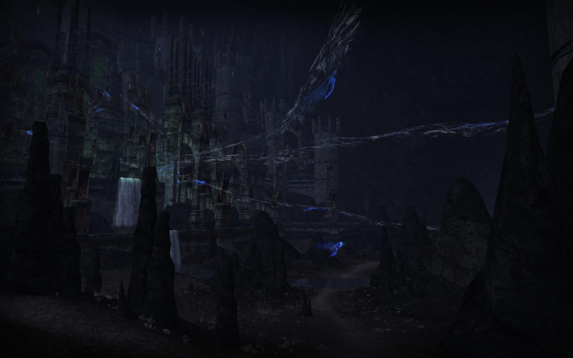 『ロード・オブ・ザ・リングス オンライン』における死者の道内部