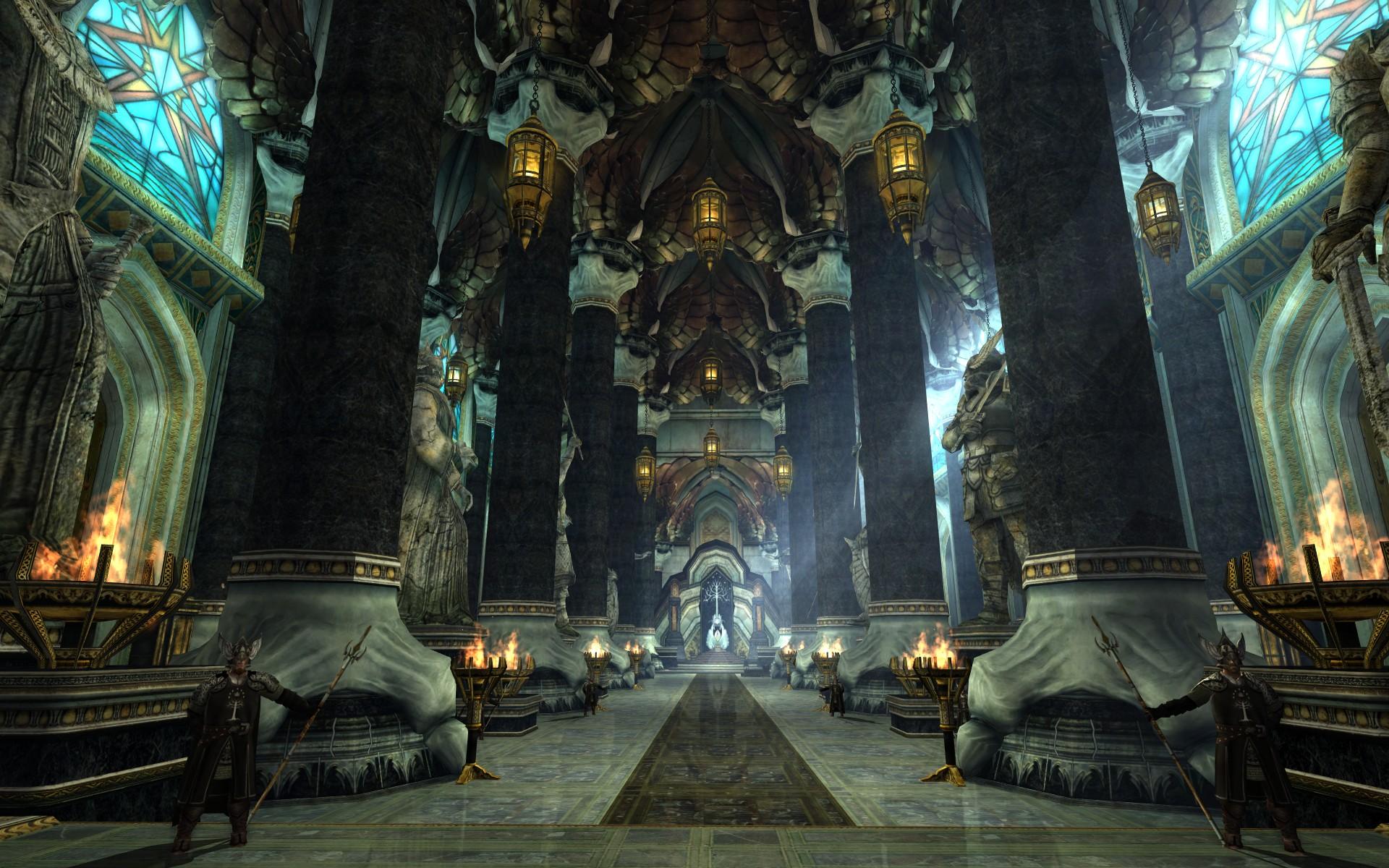 『ロード・オブ・ザ・リングス オンライン』における白の塔の大広間