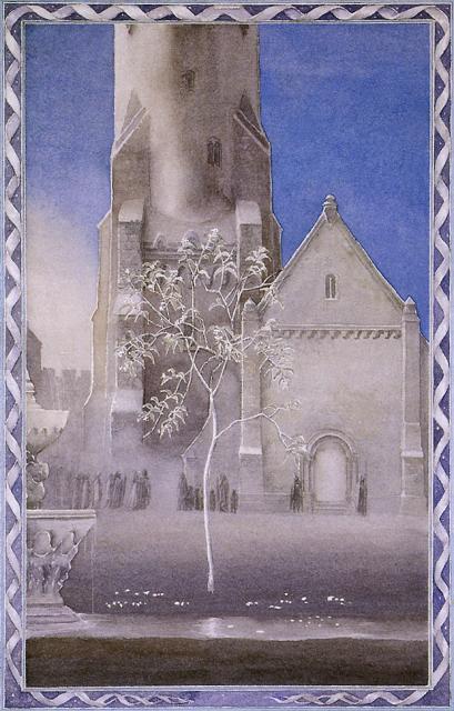 アラン・リー作画による白の木
