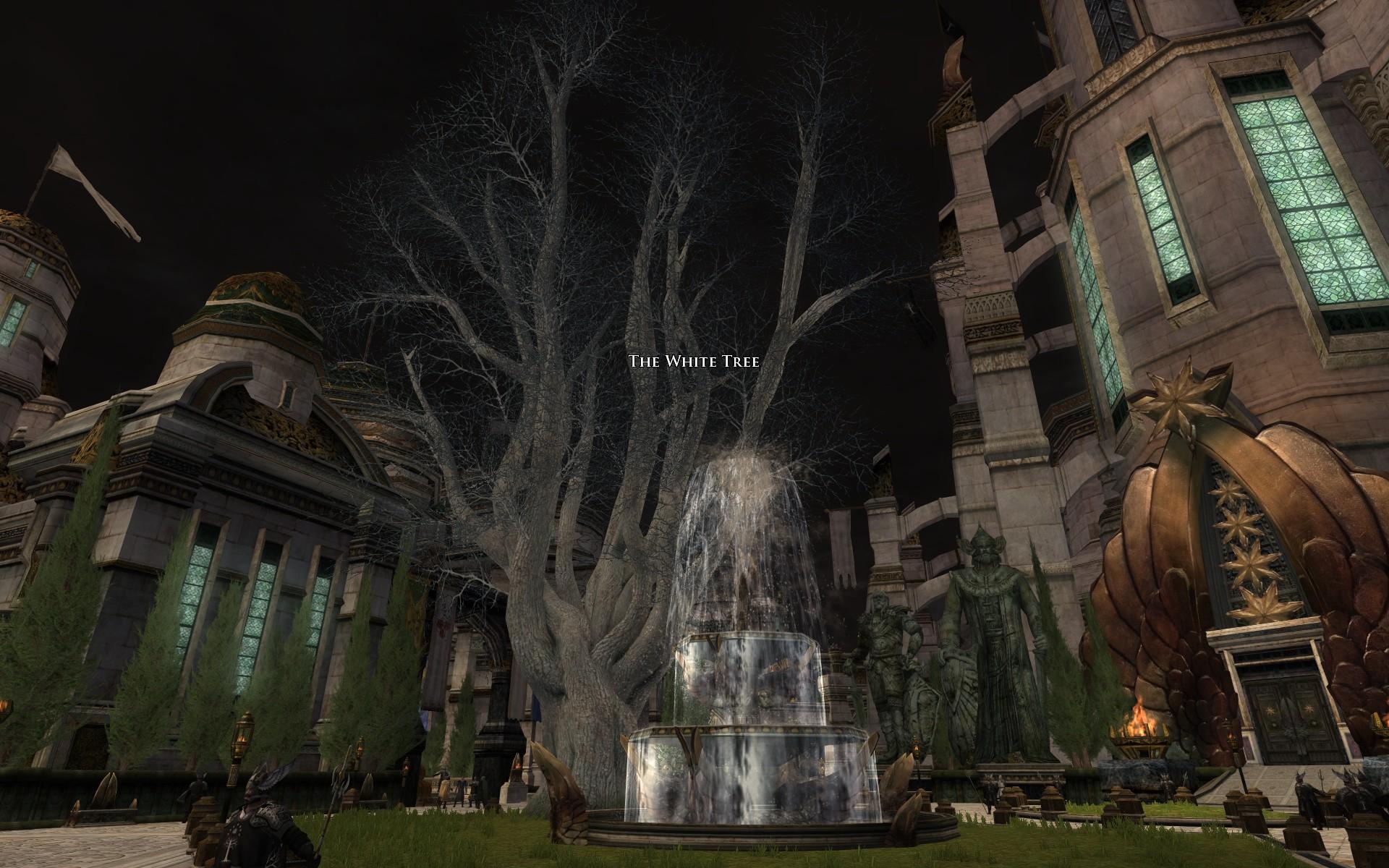 『ロード・オブ・ザ・リングス オンライン』における枯れた白の木