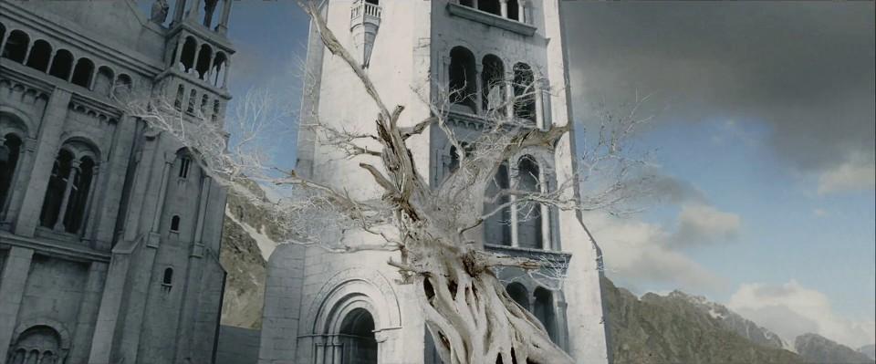 『ロード・オブ・ザ・リング』における白の木